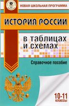 История России в таблицах и схемах. 10-11 классы. Справочное пособие, П. А. Баранов