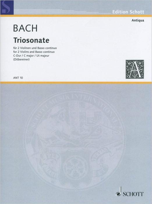 Johann Sebastian Bach: Triosonata C Major for 2 Violins and Basso Continuo, Johann Sebastian Bach