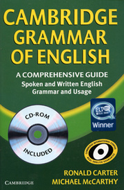 Cambridge Grammar of English (+ CD-ROM),