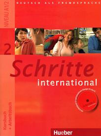 Schritte International 2: Kursbuch + Arbeitsbuch (+ CD),