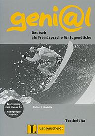 Geni@l: Deutsch als Fremdsprache fur Jugendliche: Testheft A2 (+ CD),