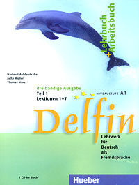 Delfin. Lehrbuch + Arbeitsbuch: Teil 1. Lektion 1-7. Niveaustufe A1 (+ CD),