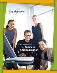 Essentials of Business Communication,