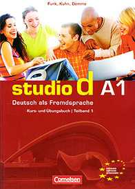 Studio d A1: Deutsch als Fremdsprache: Kurs- und Ubungsbuch / Teilband 1 (+ CD),