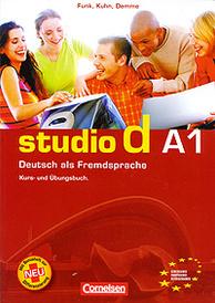 Studio d A1: Deutsch als Fremdsprache: Kurs- und Ubungsbuch (+ CD),