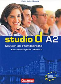 Studio d A2: Deutsch als Fremdsprache: Kurs- und Ubungsbuch: Teilband 2 (+ CD),