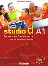 Studio d A1: Deutsch als Fremdsprache: Kurs- und Ubungsbuch: Teilband 2 (+ CD),