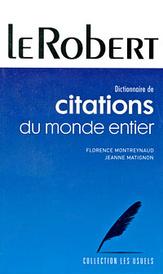 Dictionnaire de citations du monde entier,