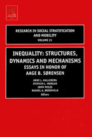 Inequality: Structures, Dynamics and Mechanisms,21,