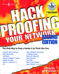 Hack Proofing Your Network 2E,,