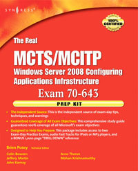 The Real MCTS/MCITP Exam 70-643 Prep Kit,