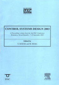 Control Systems Design 2003,