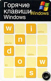 Горячие клавиши Windows (миниатюрное издание),