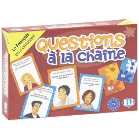 Questions a la chaine (набор из 132 карточек),
