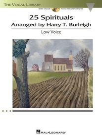 25 Spirituals Arranged by Harry T. Burleigh (+ CD-ROM),