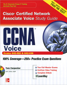 CCNA Cisco Certified Network Associate Voice Study Guide (+ CD-ROM),