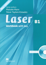Laser B1: Workbook With Key (+ CD-ROM),