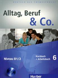 Alltag, Beruf & Co.: Kursbuch + Arbeitsbuch 6: Niveau B1/2 (+ CD-ROM),