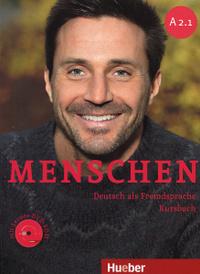 Menschen A2.1: Deutsch als Fremdsprache: Kursbuch (+ DVD-ROM),
