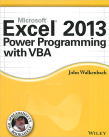 Excel 2013 Power Programming with VBA,