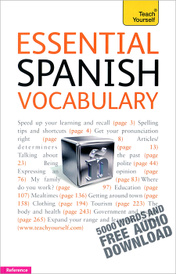 Essential Spanish Vocabulary,
