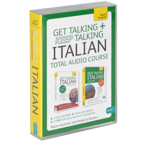 Get Talking and Keep Talking Italian: Total Audio Course (аудиокурс MP3 на 2 CD + разговорник),