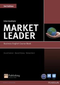Market Leader: Intermediate: Business English Course Book (+ DVD-ROM),