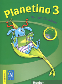 Planetino 3: Deutsch fur kinder: Arbeitsbuch (+ CD-ROM),