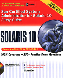 Sun Certified System Administrator for Solaris 10: Study Guide (+ CD-ROM),