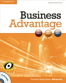Business Advantage: Personal Study Book Advanced (+ CD-ROM),
