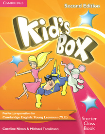 Kid's Box: Starter Class Book (+ CD-ROM),
