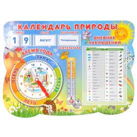 Календарь природы. Стенд,