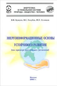 Энергоинформационные основы устойчивого развития (на примере российских регионов), В. В. Бушуев, B. C. Голубев, Ю. Г. Селюков