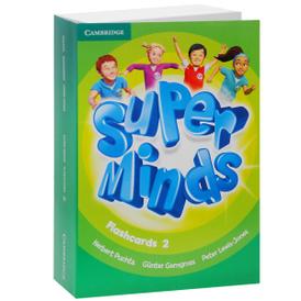 Super Minds: Level 2: Flashcards (комплект из 103 крточек),