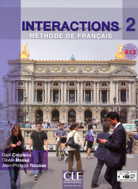 Interactions 2: Methode de Francais: A1.2 (+ DVD-ROM),