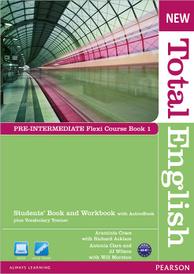 New Total English: A2-B1:Pre-Intermediate Flexi Course Book 1 (+ DVD-ROM),