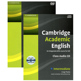 Cambridge Academic English: An Integrated Skills Course for EAP (аудиокурс CD + DVD),