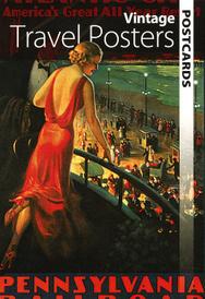 Vintage Travel Posters Postcards,