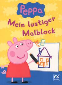 Peppa: Mein lustiger Malblock,