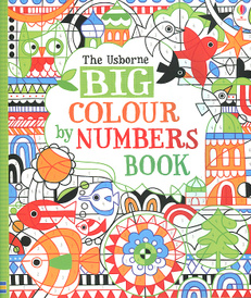 Big Colour by Numbers Book,