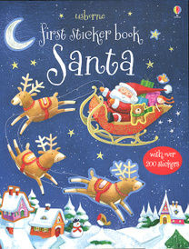 First Sticker Book: Santa,