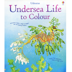 Undersea Life to Colour,