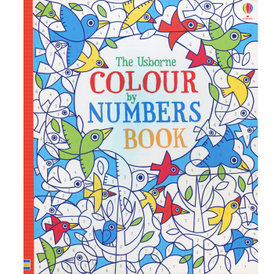 Colour by Numbers Book,