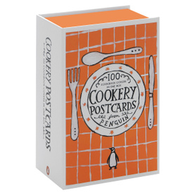 Cookery Postcards: 100 Cookbook Covers in One Box,
