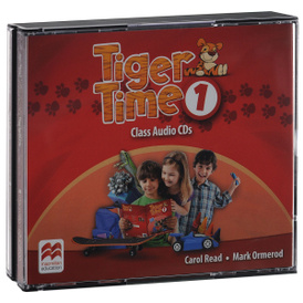 Tiger Time 1: Class Audio CDs (аудиокурс на 4 CD),