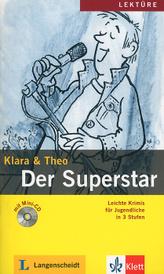 Der Superstar: Leichte Krimis Fur Jugendliche in 3 Stufen (+ mini-CD),