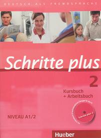 Schritte Plus 2: Kursbuch + Arbeitsbuch: Niveau A1/2 (+ CD),