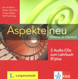 Aspekte new: Mittelstufe Deutsch: Zum Lehrbuch B1plus (+ 2CD),