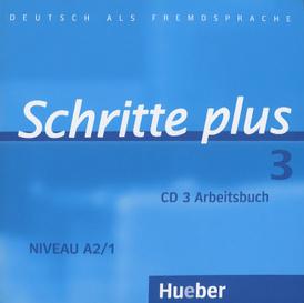 Schritte plus 3: Niveau A2/1: Arbeitsbuch (аудиокурс CD),