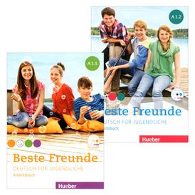Beste Freunde A1: Paket Arbeitsbuch (+ CD-ROM),